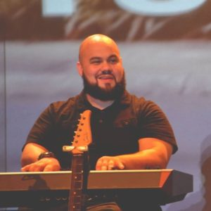Jonathan Acevedo- UC worship team Keyboardist