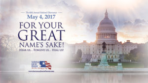 Official National Day of Prayer Flyer 2017