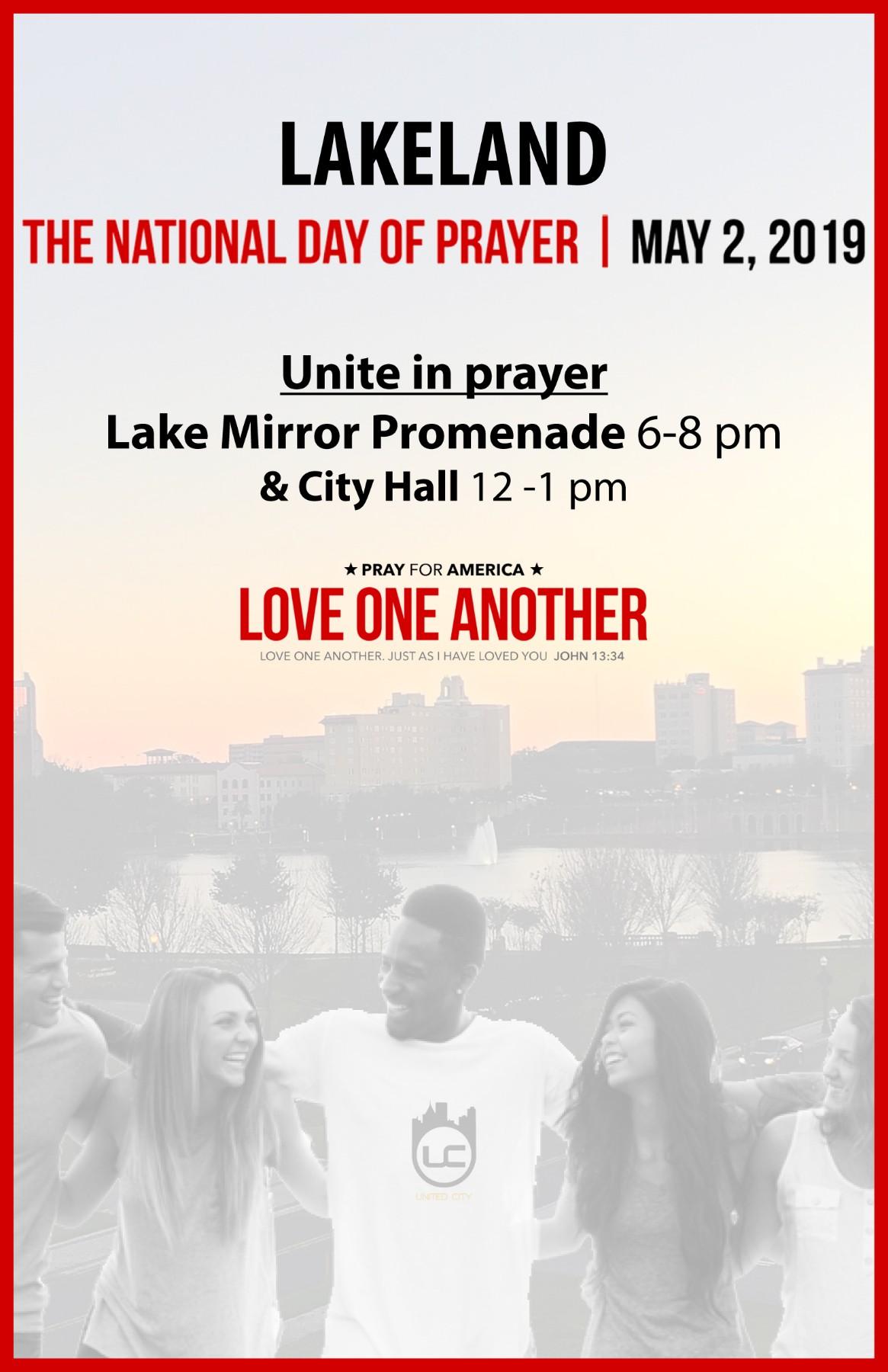 The National Day of Prayer | United City | Lakeland Florida